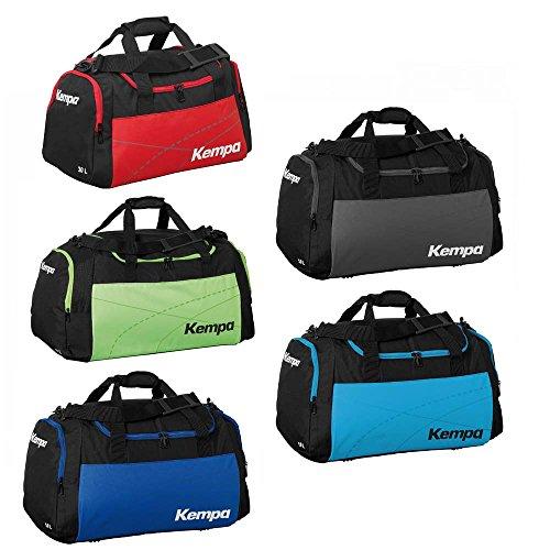 Kempa Sunshine Sporttasche Tasche in verschiedenen Farben und Grössen Schwarz-Blau