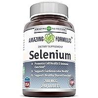 Amazing Nutrition Selenium - 200Mcg, 240 Tablets