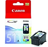 Druckerpatrone von Canon für Pixma MP 270 (Color Patrone) MP270 Tintenpatronen, 9 ml