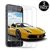 bestar Schutzfolie für iPhone SE 5 5S 5C,[3 Stück] Panzerglas Displayschutzfolie 9H Härte,3D Touch Kompatibel,Anti-Kratzen,Anti-Öl,Panzerglasfolie für Apple iPhone SE 5 5S 5C
