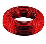 20m Schlauch 6mm Kühlschrankschlauch Rot 1/4 Zoll (6/4 mm) Osmoseschlauch Aquariumschlauch Wasserschlauch Pneumatikschlauch Luftschlauch