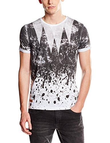 HOPE'N LIFE Herren T-Shirt Fazil Weiß - Weiß