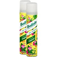 Batiste seco Champú Dry Coconut & Exotic Tropical, fresca pelo para todos los tipos de cabello, 2 unidades (2 .