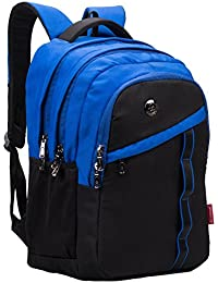 Cosmus Boston Backpack with Laptop Compartment 33L Waterproof Polyester  Royal Blue School Bag 32755363b31b8