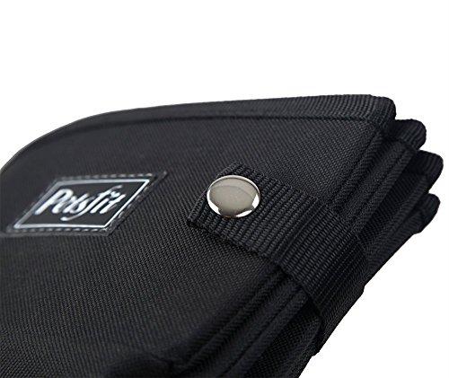 Petsfit Portable Foldable Cat Litter Box,Travel Lightweight Litter Boxes,Black 5