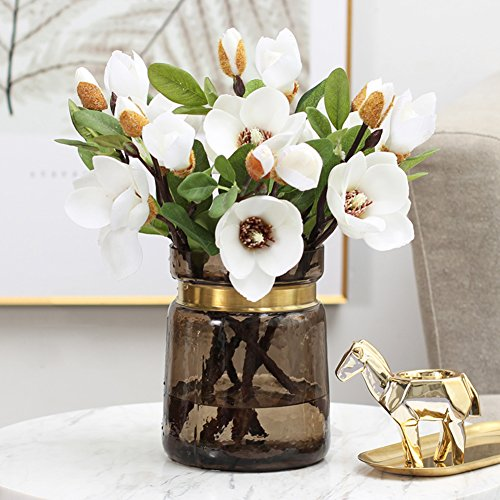 American Style, Village, [color],transparent, Glass Vase/phnom Penh Flower Arranging Device/living Room Home Flower Art Set-a
