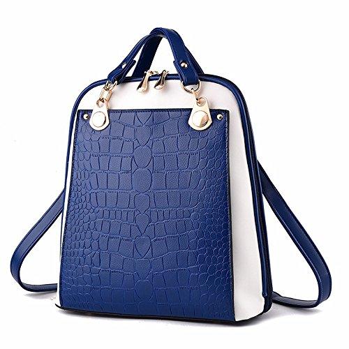 ms. pu 's rucksack student tasche,obst grün königsblau