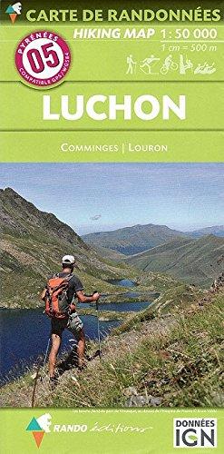 05 luchon comminges louron 1/50.000 (Carte de randonnées) por Rando éditions