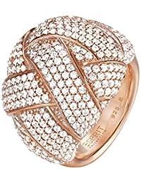 Esprit Damen-Ring 925 Sterling Silber Zirkonia LILAIA ELRG92291B