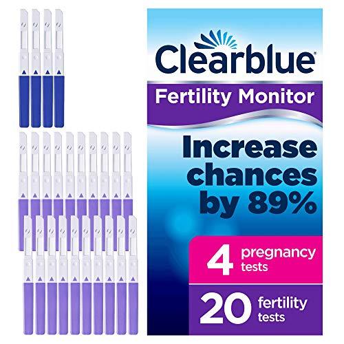 Procter & Gamble Clearblue Advanced Fruchtbarkeit Monitor Tests 20Fruchtbarkeit Tests und 4Schwangerschaft Tests