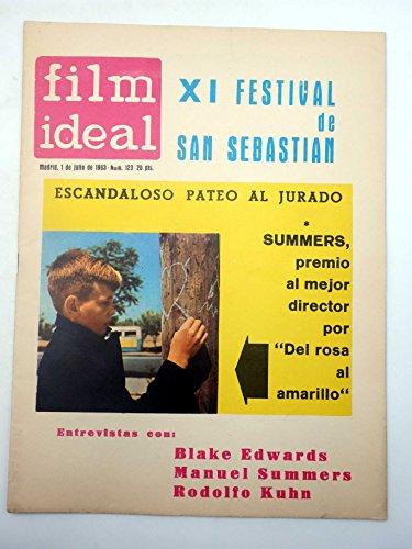 REVISTA FILM IDEAL 123. XI FESTIVAL DE SAN SEBASTIÁN. CINE