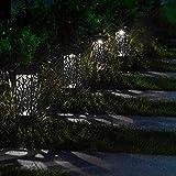 ClodeEU Eclairage Solaire,Chemin solaire de LED allumant le paysage allume la...