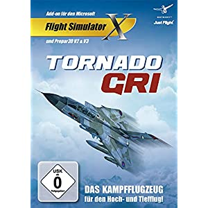 Flight Simulator X - Just Flight Tornado GR1 (Add-On) - [Edizione: Germania]