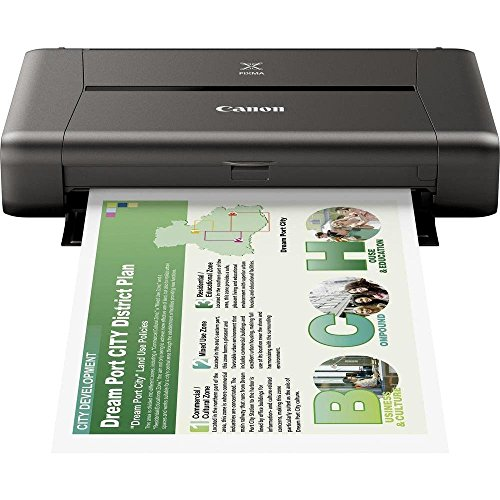 Canon Pixma iP110 mobiler Tintenstrahldrucker (9.600 x 2.400 dpi, USB, WLAN, Pixma Cloud-Link, Apple AirPrint) (ohne AKKU)