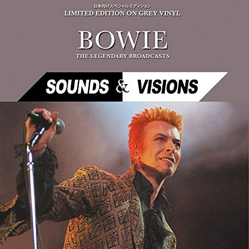 Bowie Sounds & Vision : The Legendary Broadcasts - Limited Edition on Grey Vinyl [Vinyl LP]