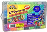 4400 Colour bands - Kids crafts Q7S® loom bands kit - For teens and beginners. Premium Quality loombands bracelets craft kits and craft sets.