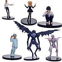 مجموعة مجسمات شخصيات من مسلسل الانمي «ديث نوت»، مكونة من 6 قطع.