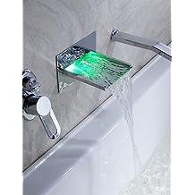 Suchergebnis auf Amazon.de für: badewannenarmatur wasserfall mit ... | {Badewannen armaturen wasserfall 9}