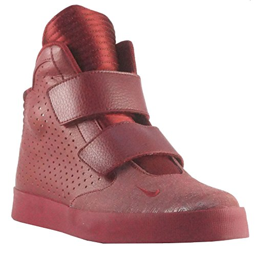 Nike Flystepper 2k3, Chaussures De Basketball Pour Hommes Team Red-team Red-team Rouge