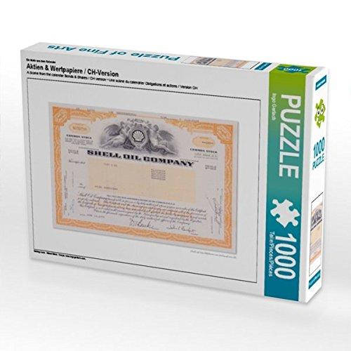 Ein Motiv aus dem Kalender Aktien & Wertpapiere / CH-Version 1000 Teile Puzzle quer