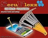 RugGear RG310, 2x Anti Shock Panzerfolie CrystalClear Bildschirmschutzfolie - SecuFlexx