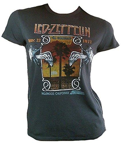 bravado-vintage-camiseta-de-mujer-gris-official-led-zeppelin-june-22-1977-inglew-brentwood-californi