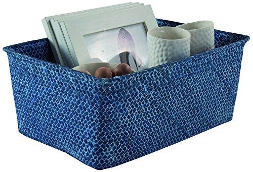 Compactor Kito - Storage Boxes & Baskets (Storage Basket, Azul, Monótono, Cuarto de baño, Dormitorio, Salón Comedor, Salón, Trastero)