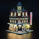 JOND Illuminazione LED Fai da Te Creative Set per Lego Fai & Crea Cafe Corner 10182 Light Model Set, Luce di Controllo Technic USB per Il Set Giocattolo Block (Nota: Non Incluso L'model)