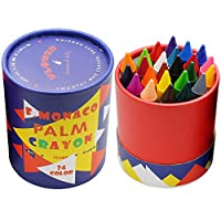 Lebze Non Toxic Crayons , Safe for Toddlers,Kids and Children For 3 Year Plus for Boys and Girls
