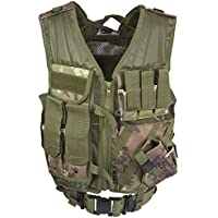 Mil-Tec Usmc Tactical Gilet Vegetato Woodland