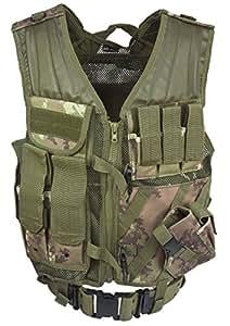 Gilet de combat USMC - Camouflage WL Végétato - Miltec