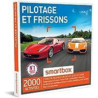 SMARTBOX - Coffret Cadeau - PILOTAGE ET FRISSONS - 1710 activités : stages jusqu'à 6 tours : Ferrari F458, Lamborghini, Maserati
