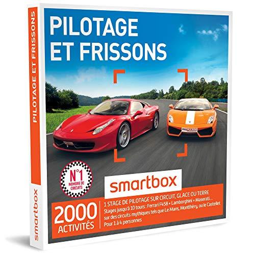 SMARTBOX - Coffret Cadeau - PILOTAGE ET FRISSONS - 1710 activités : stages jusqu'à...