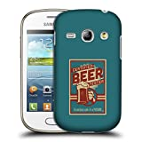 Ufficiale Lantern Press Tester Birra Per Uomini Cover Retro Rigida per Samsung Galaxy Fame S6810