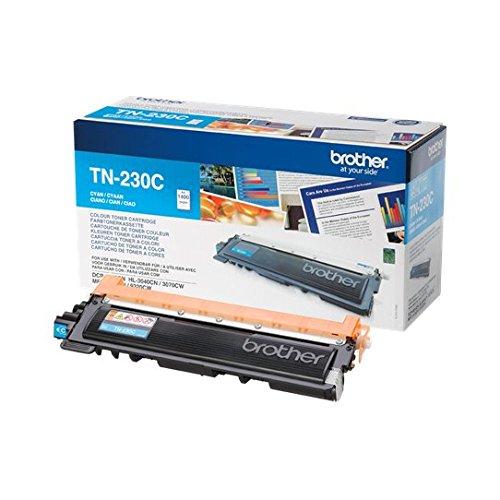 Brother Original Tonerkassette TN-230C cyan (für Brother DCP-9010CN, MFC-9120CN, HL-3040CN, HL-3070CW, MFC-9320CW) - Brother Drucker Mfc9320cw