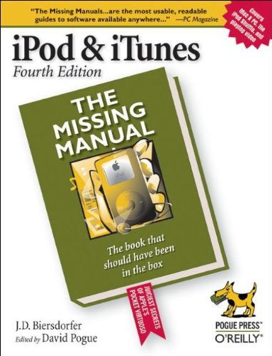 iPod & iTunes: The Missing Manual (Missing Manuals) 4 Ipod Mp3