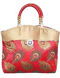 Designer And Trendy Handicraft Jhola Bag Ethnic Design Embroidery Work For Girl/women/Ladies - B077P22FWG