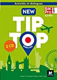 English 1re/Tle Bac Pro New Tip Top (1CD audio)