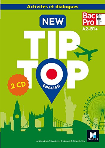NEW TIP-TOP English 1re/Tle Bac Pro - d. 2017 - CD audio