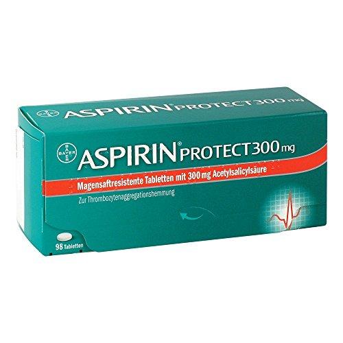 Aspirin protect 300mg 98 stk -