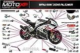 Aufkleber fur Motorrad grafiken Bmw S 1000 RR 2015 2016 2017 SB16-17