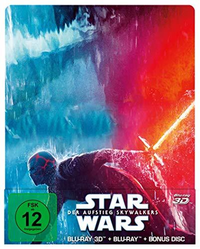 Star Wars: Der Aufstieg Skywalkers (Steelbook) [3D Blu-ray + 2D Blu-ray]