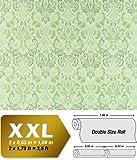 Vliestapete Barock-Tapete XXL EDEM 966-28 Muster Ornament klassisch grün hellgrün dunkelgrün   10,65 qm