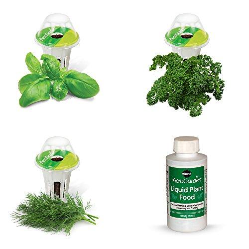 Miracle-Gro AeroGarden Gourmet Herb Seed Pod Kit, merhfarbig (Seed Pod Kit)