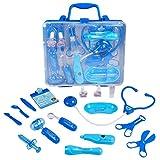 TONZE Valigetta Dottore Bambini Giochi Medico Kit Valigetta Gioco di Ruolo Giocattolo per Bambini 3 4 5 Anni