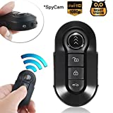 Mini Hidden Spy Camera, Bysameyee 1080P Keychain Body Cam with Night Vision, Covert