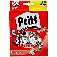 Pritt Hanging Box - Paquete de 5 x 43 gramos de adhesivo