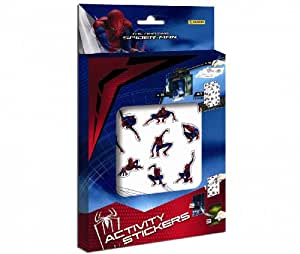 Panini - Boîte Spider-Man + 47 Stickers + Coloriages