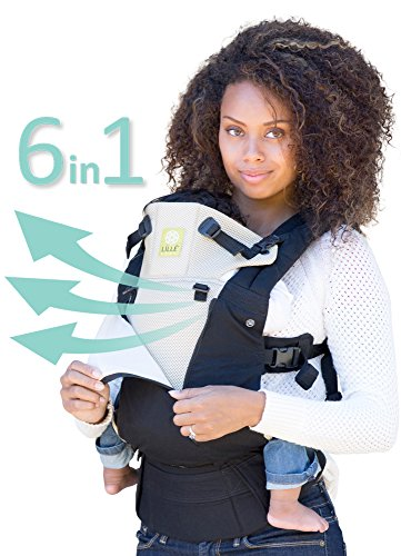 LILLEbaby Complete All Seasons 6-in-1 Baby Carrier - Black/Camel
