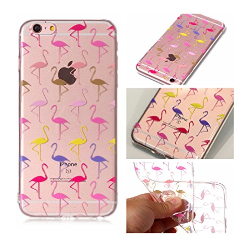 iPhone 6s Custodia, Cartoon Dente di leone - TPU Silicone Trasparente Nuovo Gel Soft Case iPhone 6/ 6S Custodia 4.7 durevole Cartoon Cover, Prova di scossa anti-graffio # # 3